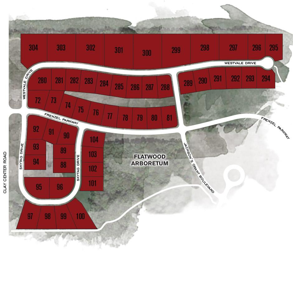 Map of Westvale Neighborhood